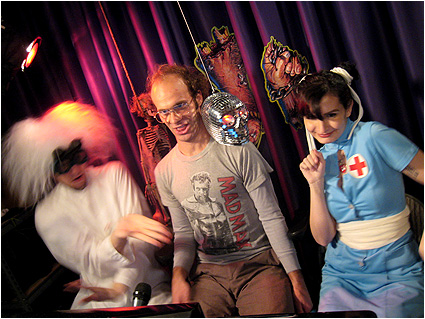 Doc Mock, Miss Diagnosis and guest Keith Apicary of Talking Classics dance the night away!