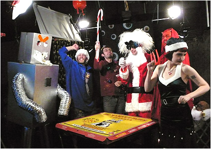 Doc Mock's Movie Mausoleum - The Big Christmas Holiday Special is now online featuring Alex Berg, Alex Fernie, Will McLaughlin, Satan and Morg the robot!