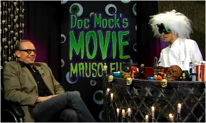 Doc Mock's Movie Mausoleum - Episode 26 with special guest Toby Huss of Carnivale, Reno 911, The Adventures of Pete & Pete, Senifeld and more is now online!