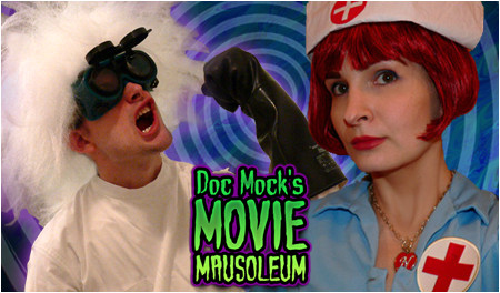 Doc Mock's Movie Mausoleum airs LIVE tonight at 10pm PST / 1am EST!